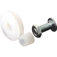 "Prime Line B 553 - Screen Door Roller Assembly, Bottom Mount, 1"" Nylon Wheel"