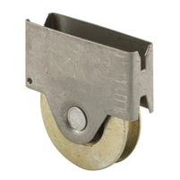 "Prime Line B 696 - Screen Door Roller Assembly, 1"" Steel B.B. Wheel"