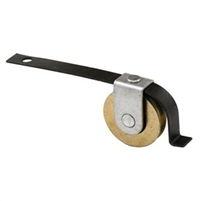 Prime Line B 717 - Screen Door Tension Roller, Straight Spring, Steel B.B.