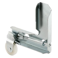 "Prime Line B 726 - Screen Door Corner & Roller, 1"" Nylon B.B. Wheel"