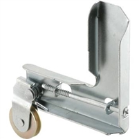 "Prime Line B 727 - Screen Door Corner & Roller, 1"" Steel B.B. Wheel"