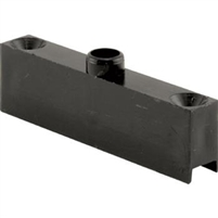 Prime Line B 742 - Screen Door Roller Top Shim, Black Plastic