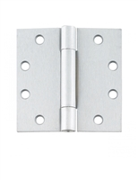 "ADH Select 5"" X 5"" Full Mortise, Standard Weight, Concealed Ball Bearing Hinge - Us26D Satin Chrome Finish (Pack Of 3)"