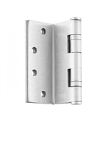 "ADH Select 4"" X 4"" Full Mortise, Standard Weight, Square Corner Two Ball Bearing Hinge - Us4 Satin Brass Finish (Pack Of 2)"