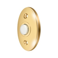 Deltana Bbc20Cr003 - Bell Button, Standard - Pvd Polished Brass Finish