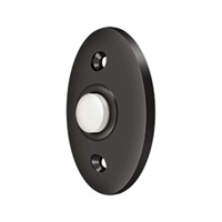 Deltana Bbc20U10B - Bell Button, Standard - Oil-Rubbed Bronze Finish
