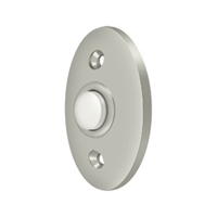 Deltana Bbc20U15 - Bell Button, Standard - Brushed Nickel Finish