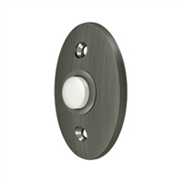 Deltana Bbc20U15A - Bell Button, Standard - Antique Nickel Finish