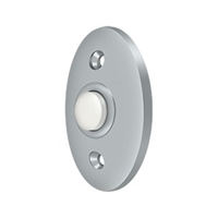 Deltana Bbc20U26D - Bell Button, Standard - Brushed Chrome Finish