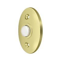 Deltana Bbc20U3 - Bell Button, Standard - Polished Brass Finish
