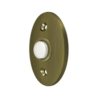 Deltana Bbc20U5 - Bell Button, Standard - Antique Brass Finish