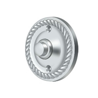 Deltana Bbrr213U26 - Bell Button, Round Rope - Polished Chrome Finish