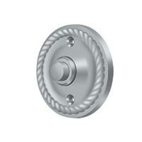 Deltana Bbrr213U26D - Bell Button, Round Rope - Brushed Chrome  Finish