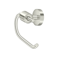 Deltana Bbs2001-14 - Toilet Paper Holder Single Post Bbs Series - Polished Nickel Finish