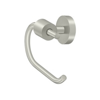 Deltana Bbs2001-15 - Toilet Paper Holder Single Post Bbs Series - Brushed Nickel Finish