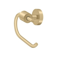 Deltana Bbs2001-4 - Toilet Paper Holder Single Post Bbs Series - Brushed Brass Finish