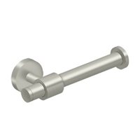 "Deltana Bbs2001L-15 - Toilet Paper Holder Single Post ""L"" Bbs Series - Brushed Nickel Finish"