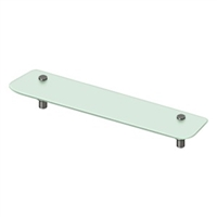 "Deltana Bbs2750-10B - 27-1/2"" Frosted Glass Shelf Bbs Series, Oil-Rubbed Bronze Finish"