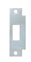 "Don Jo BFD-2-630, 4-7/8"" x 1-1/4"" Deadbolt Filler Strike, Satin Stainless Steel"