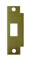 Don Jo Bfd-2-Bp, Deadbolt Filler Strike, Brass Plated