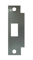 Don Jo BFD-2-SL, Deadbolt Filler Strike, Silver Coated