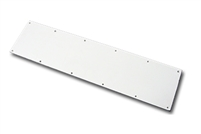 "ADH Select Metal Kick Plate .050"" X 10"" X 46"" With Screws - Us32D Satin Stainless Steel Finish"