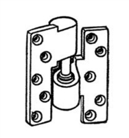 Calibre Cdc-In-8002 Right Hand Intermediate Pivot Set, Mortise Type