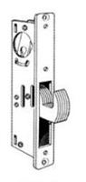 Calibre Cdc-Ls-2000-1-1-8 Hook Bolt Deadlock, 1 1/8'' Bs, Stainless Steel