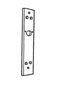 Calibre Cdc-Mp-622 7000 Series Mounting Plate Set For Wooden Doors