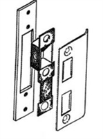 Calibre Cdc-St-2000 Strike Set, Offset Door And Frame, Replacement For Deadlock