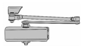 Calibre Cdc-Ts100-H-Bk, Complete Door Closer Package, Standard Arm (5 Year Warranty)