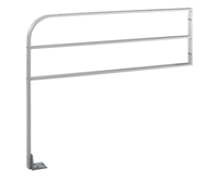"30"" Height X 48"" Length Aluminum Guide Rail With Horizontal Bar"