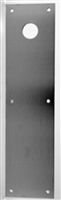 "Don Jo Cfc-71-606, 1/8"" Push Plate, 4"" X 16"", 606 Finish"