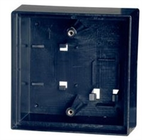 "Camden Door Controls Cm-43Cbl: Surface Box, Standard Depth Provision For Wireless. Double Wall, Flame/Impact Resistant Black Polymer (Abs) 4-1/2"" W X 4-1/2"" H X 2"" D"