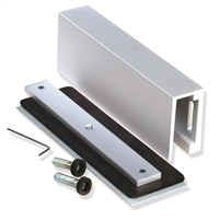 "Camden Door Controls Cx-1013: Glass Door Mounting Kit - For 600 And 1200 Lb Mags. Adjustable 1/4"" (6.3Mm) To 1/2"" (12.7Mm) Inch Thick Doors"