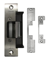 Camden Door Controls Cx-Ed2079: 'Universal' Electric Strike, 12/24V Ac/Dc, Fail Safe/Fail Secure Operation, Horizontal Adjustment, C/W 3 Stainless Steel Faceplates (Cx-Esp1B, Esp2B & Esp 4B)