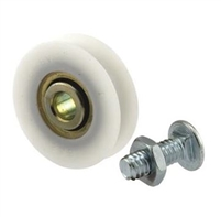 Prime Line D 1504 Sliding Door Roller With Bolts, 1-1/4-Inch Nylon Ball Bearing, 2-Pack