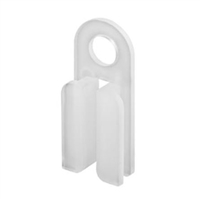 Prime Line D 1570 Sliding Door Guide, Anti-Noise, Nylon,(Pack Of 4)