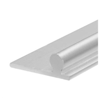 Prime Line D 1654 - Replacement Glass Track, 6 Feet, Aluminum, Pack of 10