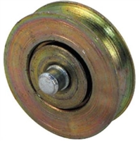 Prime Line D 1765 Sliding Door Roller With Axle, 1-1/4-Inch Steel Ball Bearing,(Pack Of 2)
