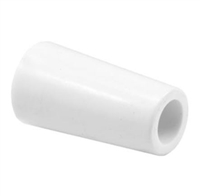 Prime Line D 1801 Sliding Door Bumper With 1-13/16-Inch White Rubber,(Pack Of 2)