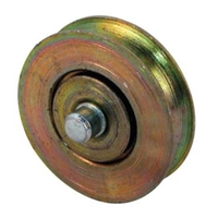 Prime Line D 1854 Sliding Door Roller With 2 Axle 1-1/8 Steel Ball Bearing,(Pack Of 2)