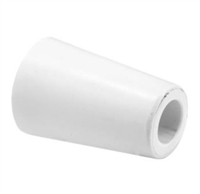 Prime Line D 1900 Sliding Door Bumper, 1-1/2 White,(Pack Of 2)