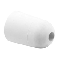 Prime Line D 2022 Sliding Door Bumper Round Tip Design, 1 1/2-Inch, White,(Pack Of 2)
