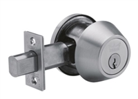 DORMA D871619 - D871 THUMBTURN AND OCCUPANY INDIACTOR DEADBOLT, 2-3/4 IN BACKSET, 619 SATIN NICKEL