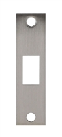 "Don Jo DBS-2478-SL, 4-7/8"" x 1-1/4"" Deadbolt Strike, Silver Coated"