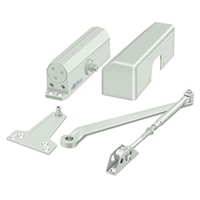 Deltana Dc10 Door Closer, White Finish
