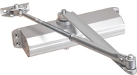 Tell Dc100022, 600 Series Grade 1 Door Closer, Fixed Size 4, No Cover, Aluminum Finish (Lifetime Warranty)