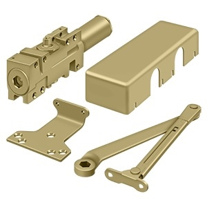 Deltana Dc40 Door Closer Gold Finish