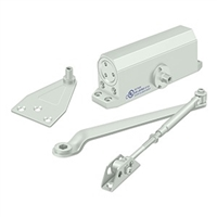 Deltana Dc50 Door Closer, White Finish